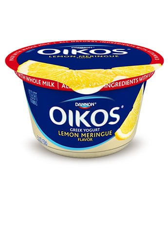Dannon Oikos lemon Meringue